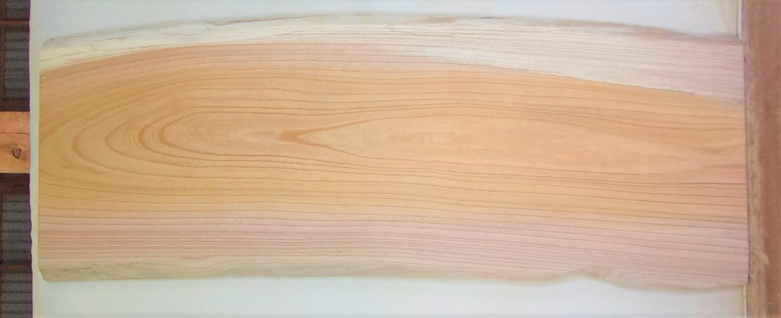 【送料・手数料無料!】 山成林業 大型無垢一枚板 KB-643 ケヤキ 大型看板に最適