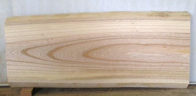 看板 椅子 ベンチに最適 けやき板 KE-957 630×280×35mm