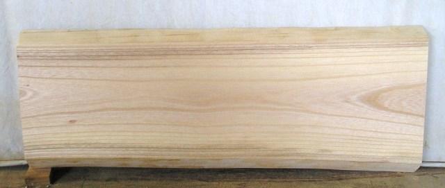 看板 小型ベンチに最適 けやき板 KE-958 640×250×35mm