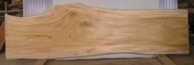 看板 テーブル ベンチに最適F-509 けやき板 2010×440~580×43mm