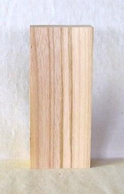 表札素材 KE-42ケヤキ板 210×90×40mm