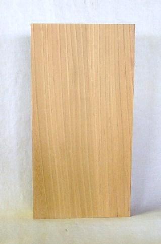 看板、表札素材 KE-65ケヤキ板 300×155×43mm