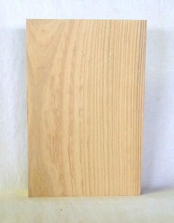 看板、表札素材 KE-66ケヤキ板 290×190×42mm