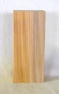 表札素材 KE-74ケヤキ板 210×90×45mm