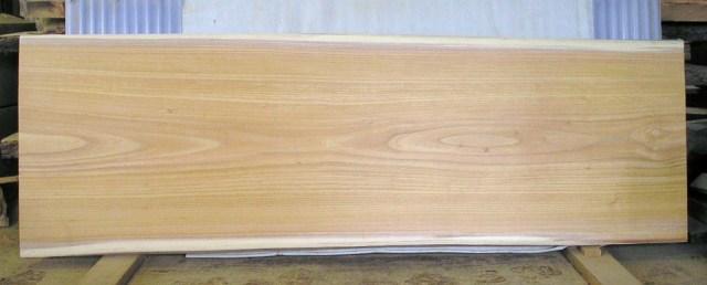 看板、テーブルに最適 KA-85ケヤキ板 1860×620×43mm