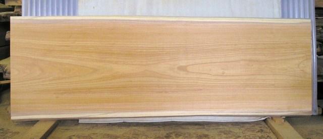 看板、テーブルに最適 KA-86ケヤキ板 1700×610×45mm