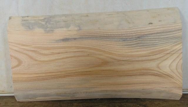 看板、ミニテーブルに最適 KE-109 ケヤキ板 630×360×40mm