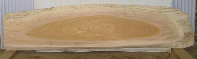 看板、ミニベンチに最適 KB-114 ケヤキ板 1670×390×45mm