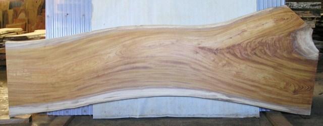 看板、テーブルに最適 KA-133 ケヤキ板 2200×760×45mm