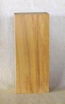 表札素材 KE-145ケヤキ板 210×87×42mm