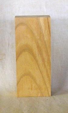 【無垢一枚板】表札素材 KE-148ケヤキ板 210×90×42mm