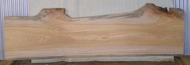 【木製看板・一枚板】山成林業 F-448 ケヤキ板 1460×440×約30mm