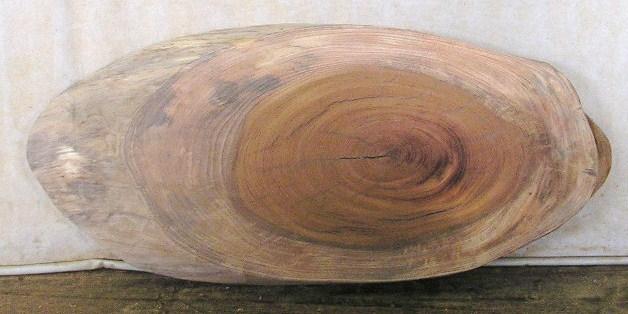 山成林業 特小無垢一枚板 KE-172 ケヤキ板 花台・ウェルカムボードに最適
