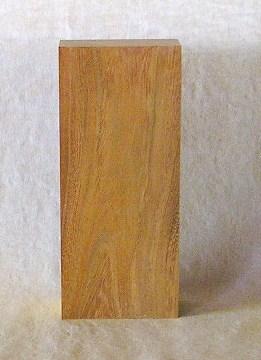 山成林業 縦型表札一枚板 KE-190 ケヤキ板 表札素材に最適