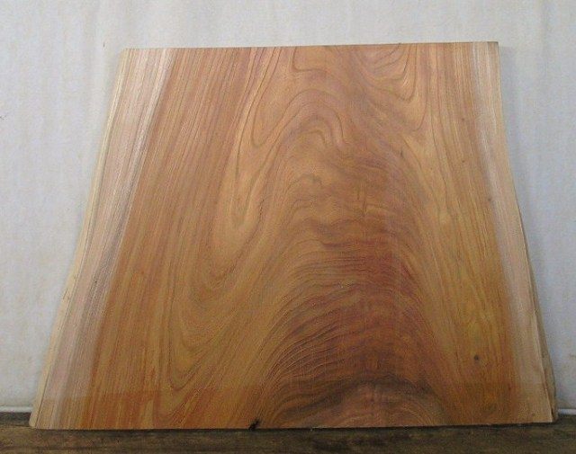 山成林業 小型無垢一枚板 KD-196 ケヤキ板 小型看板素材