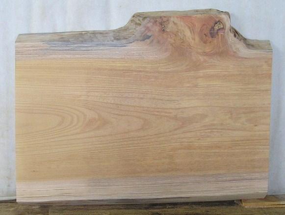 【送料・手数料無料】 山成林業 小型無垢一枚板 KD-203 ケヤキ板