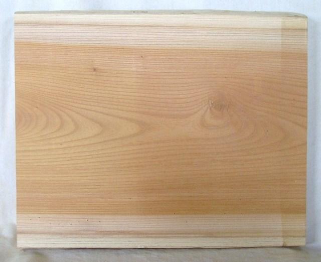 【木の看板 材料】 山成林業 小型無垢一枚板 KE-205 ケヤキ板