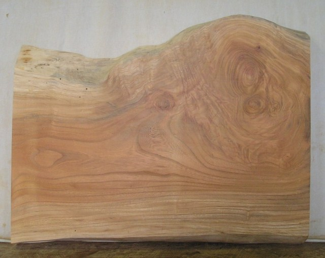【木の看板 一枚板】 山成林業 中型無垢一枚板 KC-210 ケヤキ
