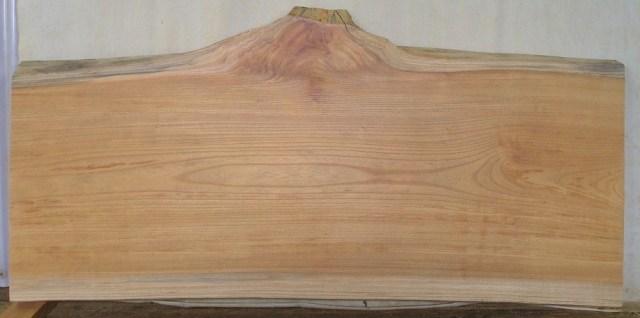 【木の看板 一枚板】 中型無垢一枚板 KC-213 ケヤキ 中型看板に最適