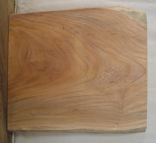【送料・手数料無料】 小型無垢一枚板 KD-238 ケヤキ 小型看板に最適