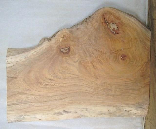 【木製看板・一枚板】 小型無垢一枚板 KD-240 ケヤキ 小型看板に最適