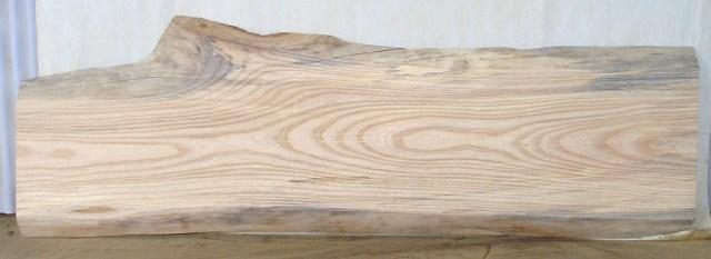 【木製看板・一枚板】 訳あり特価一枚板 KC-241 ケヤキ 中型看板に最適