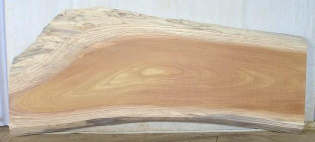【木製看板・一枚板】 中型無垢一枚板 KC-242 ケヤキ 中型看板に最適