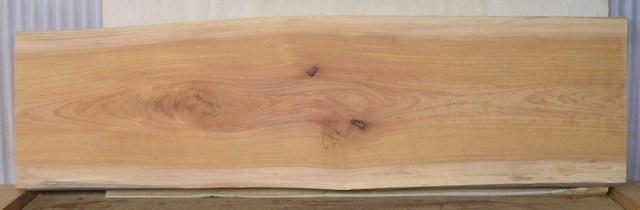 【木製看板・一枚板】 大型無垢一枚板 KB-243 ケヤキ 大型看板に最適