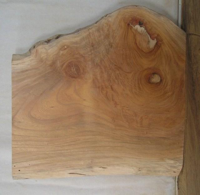 【木製看板・一枚板】 小型無垢一枚板 KD-239 ケヤキ 小型看板に最適