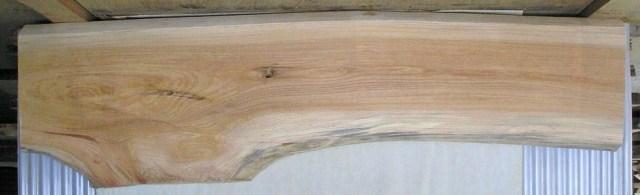 【送料・手数料無料】 大型無垢一枚板 KB-250 ケヤキ 大型看板・ベンチに最適