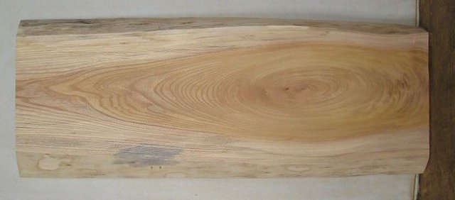 【木の看板 一枚板】 山成林業 小型無垢一枚板 KD-264 ケヤキ