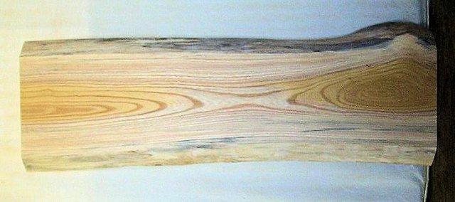 【木製看板・無垢一枚板】 山成林業 中型無垢一枚板 KC-275 ケヤキ 中型看板に最適