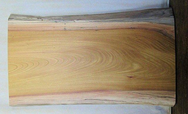 【木の看板 無垢一枚板】 山成林業 訳あり特価一枚板 KD-278ケヤキ 木の看板に最適