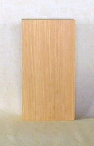 山成林業 縦型表札一枚板 KE-296 ケヤキ板 表札素材に最適