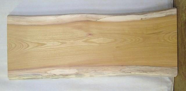 【木製看板・無垢一枚板】 山成林業 中型無垢一枚板 KC-285 ケヤキ 中型看板に最適