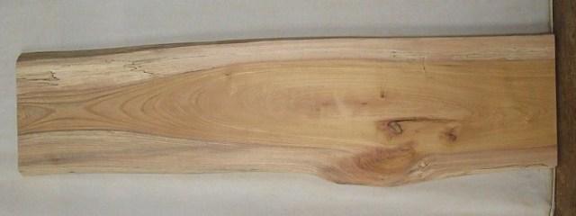 【送料・手数料無料】 山成林業 訳あり特価一枚板 KC-324 ケヤキ看板・花台に最適