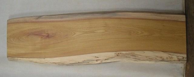 【送料・手数料無料】 山成林業 小型無垢一枚板 KD-325 ケヤキ 小型看板に最適