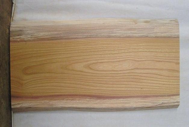 【送料・手数料無料】 山成林業 小型無垢一枚板 KD-326 ケヤキ 小型看板に最適