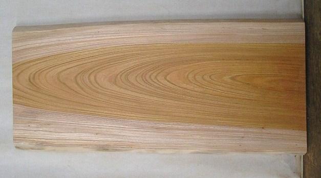【送料・手数料無料】 山成林業 小型無垢一枚板 KD-327 ケヤキ 小型看板に最適