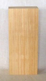 【送料・手数料無料】山成林業 縦型表札一枚板 KE-311 ケヤキ板 表札素材に最適