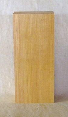 【送料・手数料無料】山成林業 縦型表札一枚板 KE-332 ケヤキ板 表札素材に最適