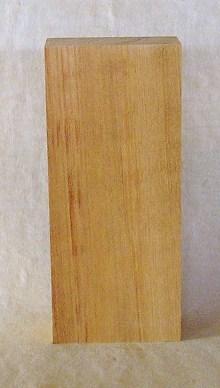 【送料・手数料無料】山成林業 縦型表札一枚板 KE-333 ケヤキ板 表札素材に最適