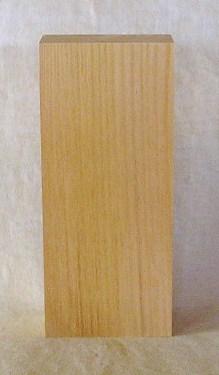 【送料・手数料無料】山成林業 縦型表札一枚板 KE-335 ケヤキ板 表札素材に最適