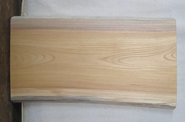 【手数料無料】 山成林業 特小無垢一枚板 KE-348 ケヤキ看板に最適