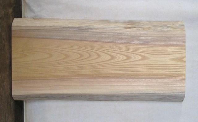 【送料・手数料無料】 山成林業 特小無垢一枚板 KE-349 小型看板に最適ケヤキ板