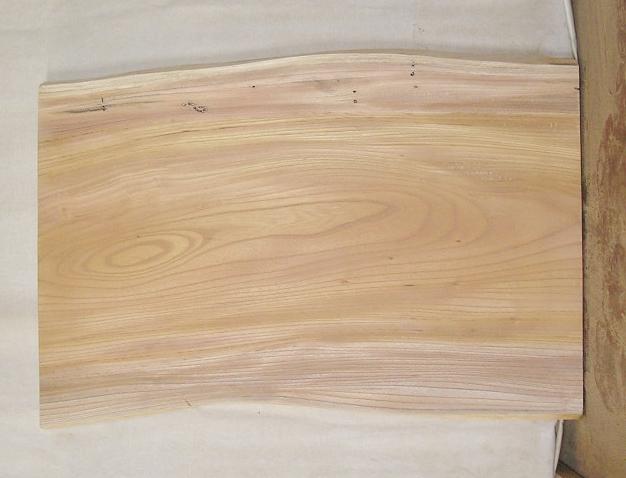 【送料・手数料無料】 山成林業 訳あり特価一枚板 KD-357 ケヤキ ミニテーブルに最適