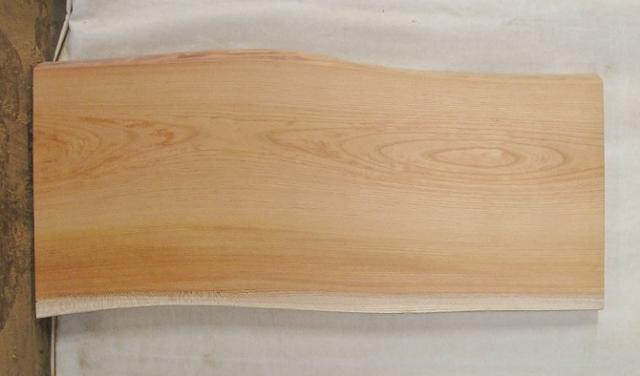 【送料・手数料無料】 山成林業 小型無垢一枚板 KD-358 ケヤキ 小型看板に最適