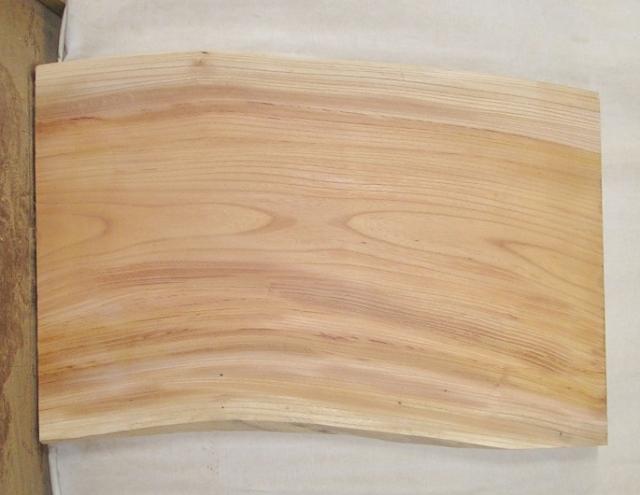 【送料・手数料無料】 山成林業 訳あり特価一枚板 KD-361 ケヤキ ミニテーブルに最適