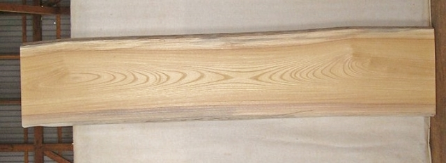 【送料・手数料無料!】 山成林業 大型無垢一枚板 KB-304 ケヤキ DIYに最適