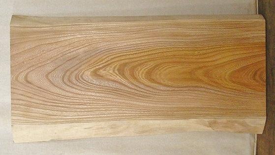 【送料・手数料無料】 山成林業 小型無垢一枚板 KD-305 ケヤキ 小型看板に最適